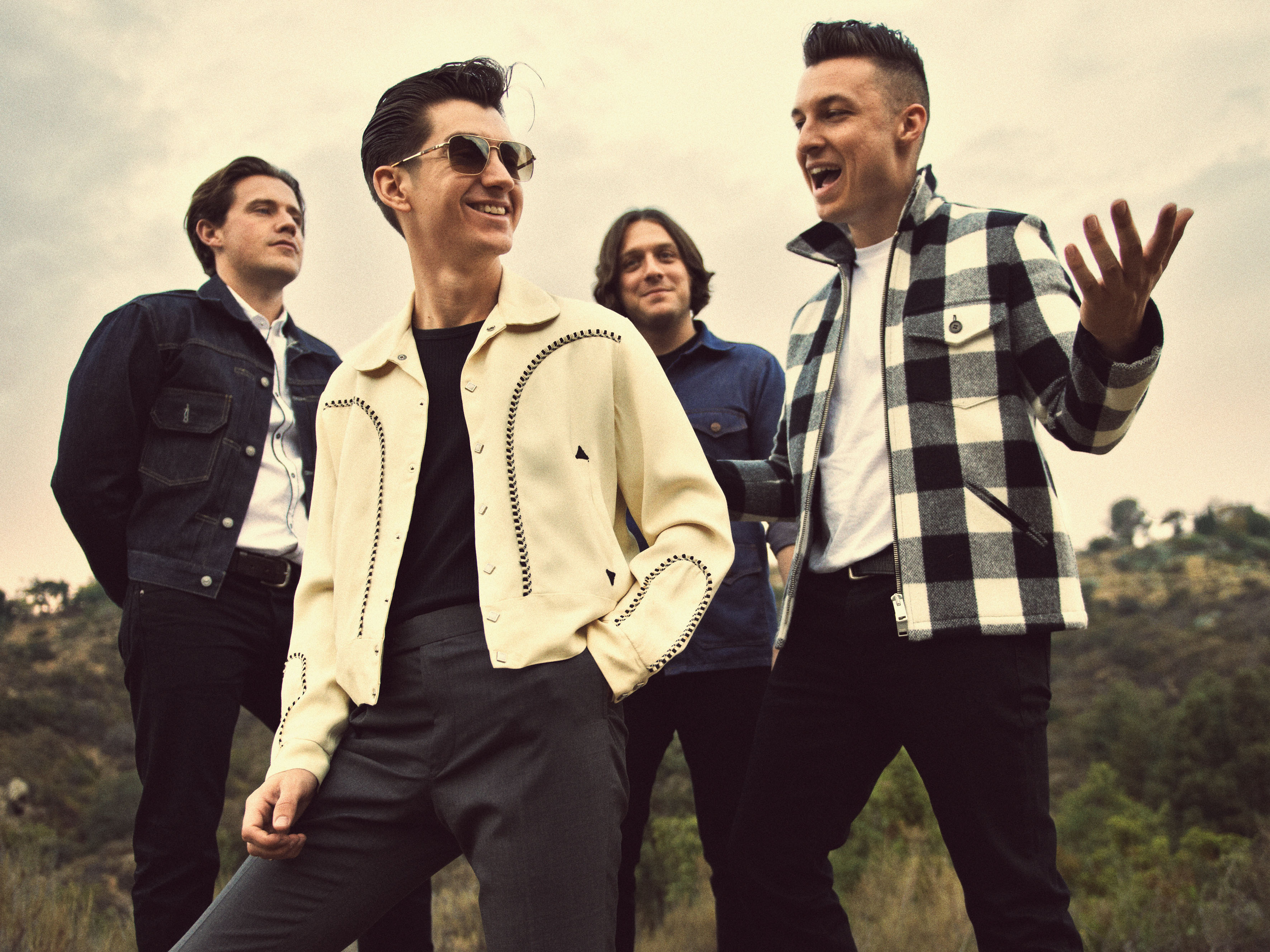 Arctic Monkeys, 2013 landscape
